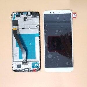 Image 4 - Mit Rahmen 5,7 Neue Für Huawei Ehre 7A Pro AUM L29 LCD Dsplay Touchscreen Digitizer Montage Für Honor 7C AUM L41 LCD display