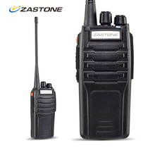 Strong Penetration! Zastone ZT-A9 10W Long Range Two Way Radios UHF Handheld Radio Walkie Talkie Rechargeable Portable Ham Radio