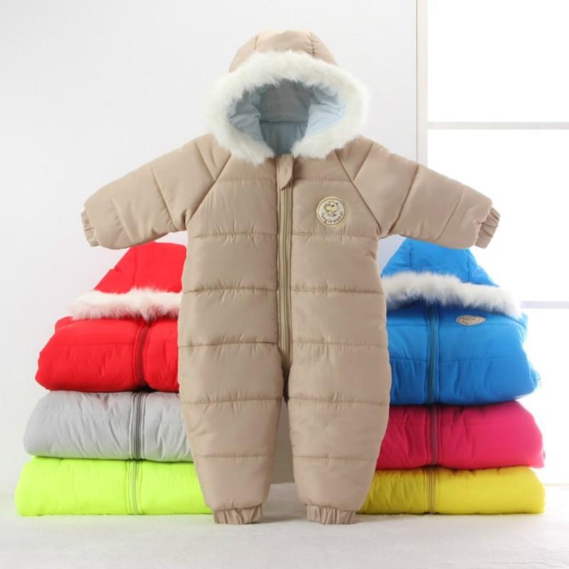 Newborn Baby Boy Clothes Winter Warm Outerwear Baby Girl ...