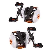 12+1 BB Baitcasting Reel Fishing Fly with Magnetic Brake System 6.3:1 H1E1