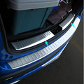 FOR Mazda CX-5 CX5 2013 2014  Stainless Steel Inner Rear Bumper Protector Sill Trunk Trim accessories CAR styling