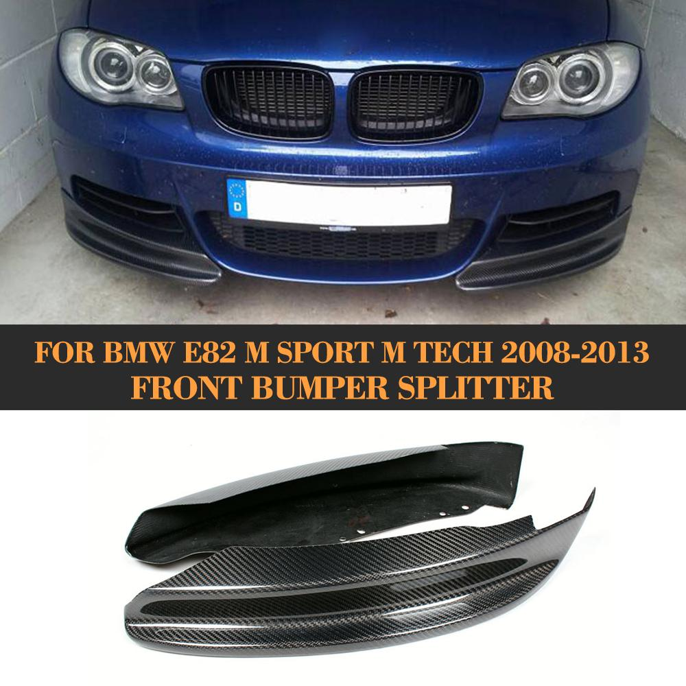 Здесь продается  1 Series Carbon Fiber Front Bumper Diffuser Apron Splitter for BMW E82 M Sport Sedan 2007-2013  Автомобили и Мотоциклы