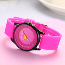 Fashion Candy Red Women's Watch