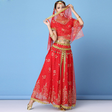 Indian Sari Outfit Dance Wear Women stage