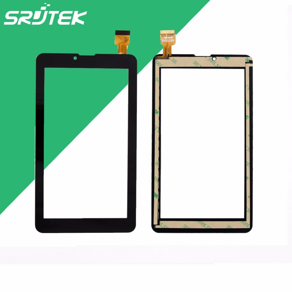 Srjtek 7'' FM707101KE Capacitive Touch Screen Panel Digitizer Glass Repair Replacement Parts ultra thin 7 touch screen lcd wince 6 0 gps navigator w fm internal 4gb america map light blue