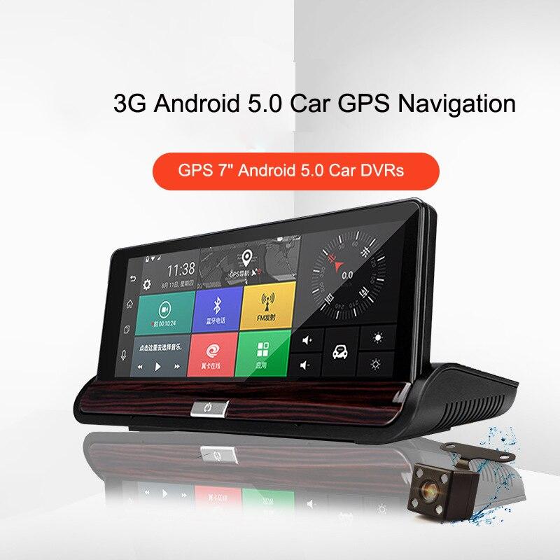 3G voiture GPS Navigation Camare 16G DVR 7