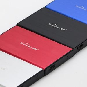 Доставка из России, алюминиевый корпус для жесткого диска sata к usb 3,0 HDD коробка для жесткого диска ТБ 2,5 дюйма hdd caddy для ОС/Windows/MAC blueendless