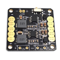 CC3D PDB Power Distribution Board with 5V/12V BEC Output LED Switch for FPV RC 250 Racing Across Quadcopter Drone