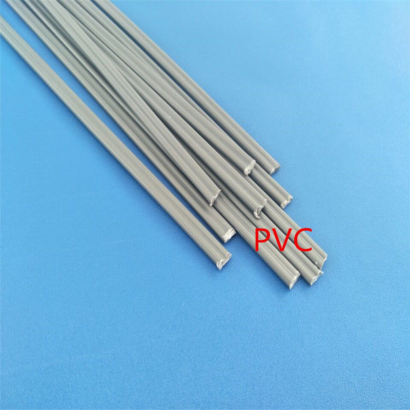 11pcs ABS Plastic welding rods 10mm green flat shape