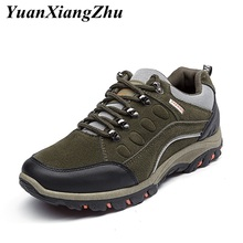 цены mens shoes casual hiking shoes comfortable breathable waterproof outdoor trekking shoes sneakers men mountain climbing shoes