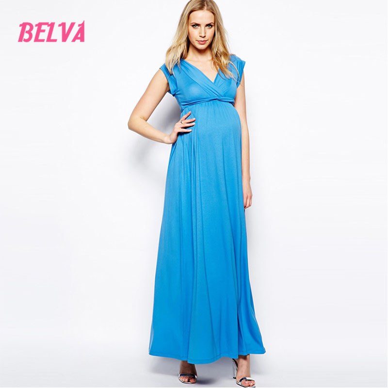 Belva 2017 Bamboo Fiber dress evening maternity dresses photo gown photography dress for pregnant breastfeeding dress DA409780 belva 2017 half sleeve maternity dress pregnancy for photo shoot photography props high quality bamboo fiber nursing dress	dr138