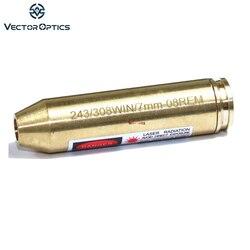 Vector Optics 243.308 WIN. 7.62x51 มม.7mm-08 REM ตลับหมึกสีแดงเลเซอร์ BORE Sight Boresighter Brass Fit Ruger SAVAGE Browning