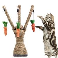 Pet Cat Toys Interactive Tree Tower Shelves Climbing Frame Scratching Post Pet Toy Supplies