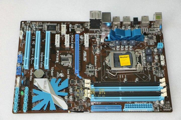 Carte mère ASUS originale P7H55 conseils LGA 1156 DDR3 pour i3 i5 i7 cpu 16 GB carte mère H55 Bureau carte mère Livraison gratuite