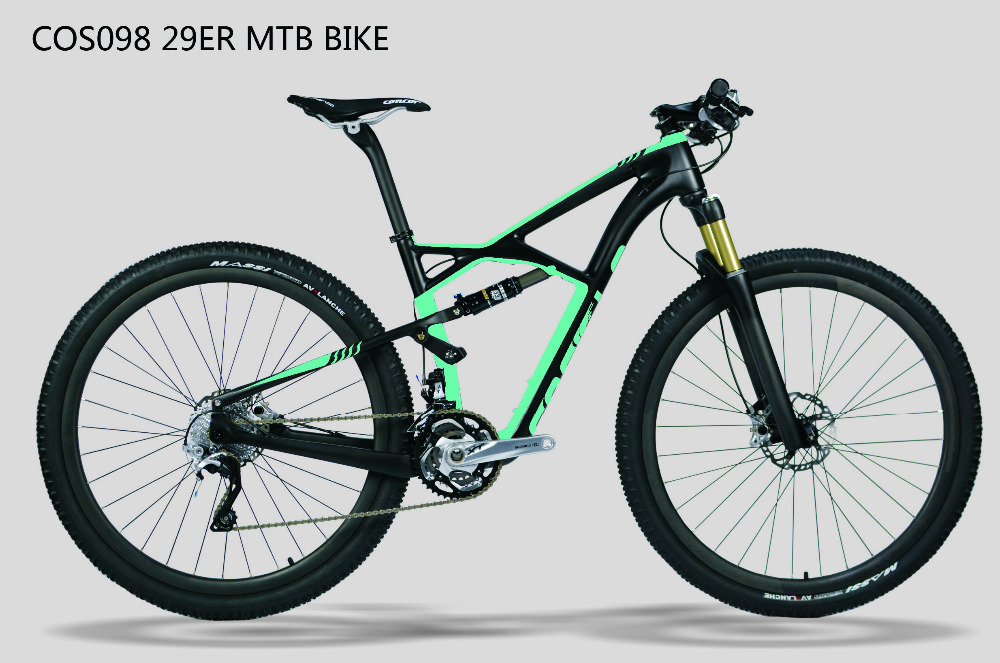 Cos098 Popular Cheap China Supplier Carbon Fiber Suspension Mtb
