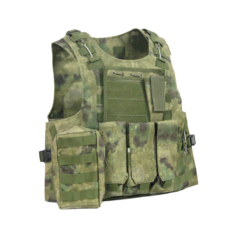 Pythons Camo Hunting Military Airsoft MOLLE Nylon Combat Paintball Tactical Vest CS Outdoor Products