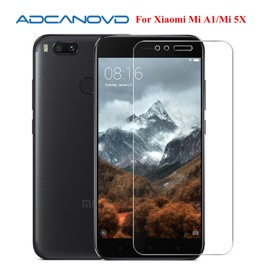 2pcs Tempered Glass For Xiaomi Mi A1 Screen Protector Film For Xiaomi Mi A1 Mia1 Xiaomi Mi5X Mi 5x Protective Glass Film