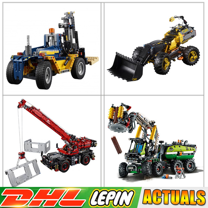 Lepin Technic Series 20082 20083 20084 20085 Blocks Compatible LegoINGlys 42079 42080 42081 42082 Bricks Toys for Children Gifts lepin technic 20004 20005 20006 20007 20008 20056 20076 20083 20084 20085 compatible legoinglys 42080 42081 42082 blocks toys