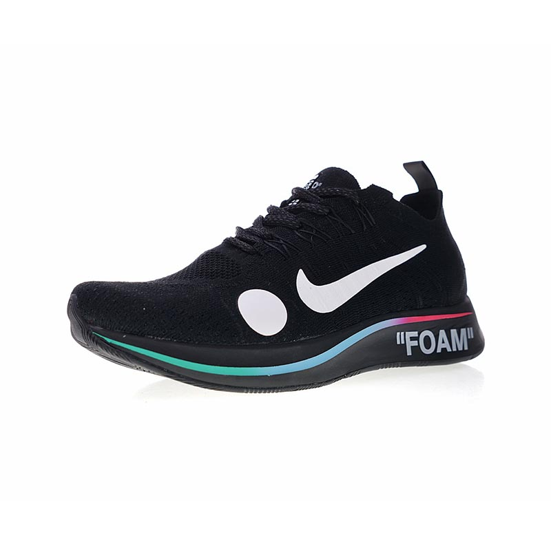 1af0051f3769 Original New Arrival Authentic Off-White x Nike Zoom Fly Mercurial Flyknit Men s  Running Shoes Sneakers Good Quality AO2115-001