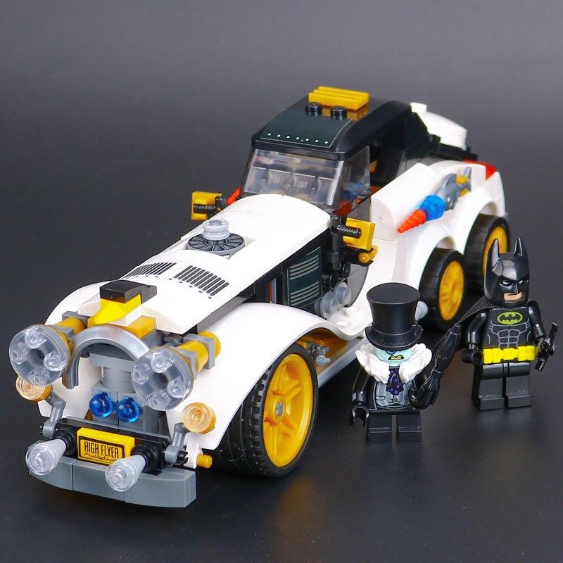 mylb Batman Movie Killer Croc Tail-Gator Man-Bat Brick Sets Building Block Leksaker Kompatibel Batman