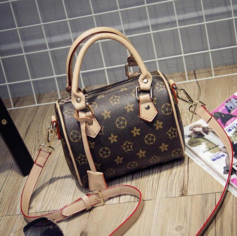 Women tote vintage font b handbags b font Sac a main femme de marque leather shoulder