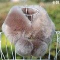 2015 outono e inverno mulheres faux gola de pele de inverno falso térmica cachecol cachecol de pele de coelho rex engrossar cachecol quente