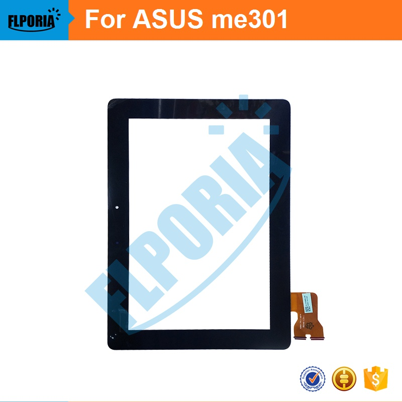 Tablet Touch Panel 10.1'' Inch For ASUS me301 Touch Screen Digitizer Front Glass with Flex Cable Assembly 100% New new touch panel for ipad air 1 ipad 5 touch screen digitizer flex cable front glass assembly adhesive with home button t0 3