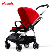 2018 New design baby stroller lightweight portable and folding pram for 5 36 months girls and boys fashion and luxury for mother