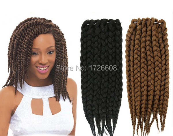Crochet Hair Distributors : .com : Buy New Hair Style Bouncy HAVANA MAMBO TWIST Crochet Braids ...