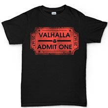 Men's T-Shirt Ticket to Valhalla