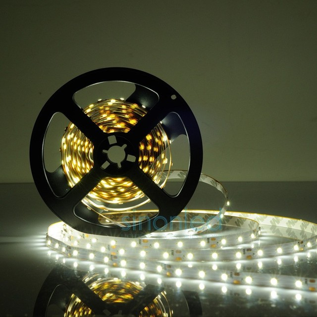 5m SMD 3528 LED Strip non-waterproof 12V soldered 60 led/m,LED strip white/warm white/blue/green/red/yellow/RGB Free Shipping