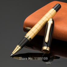 Luxury Create Gold Steel Heavy Metal Ballpoint Pens Caneta Writing Supplies 6874