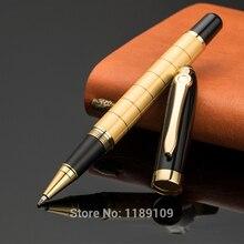 Ограниченное предложение Роскошные создать золото Сталь тяжелые металлические шариковые ручки Caneta предоставляет 6874
