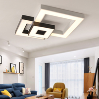 Verllas Modern Bedroom Living Room Lights Luminaire Lighting Creatice Ceiling Lights LED With Remote Control Dimmer