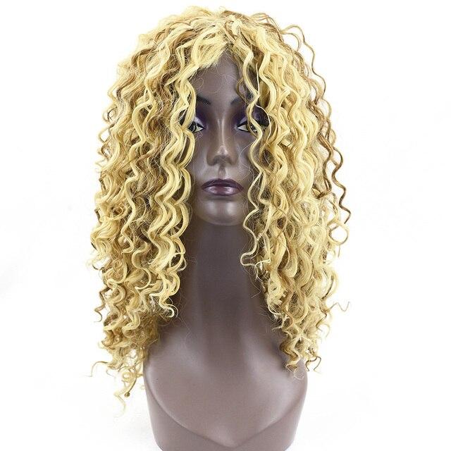 Soowee Lange Tiefe Welle Synthetische Haar Blonde Gemischte Ombre