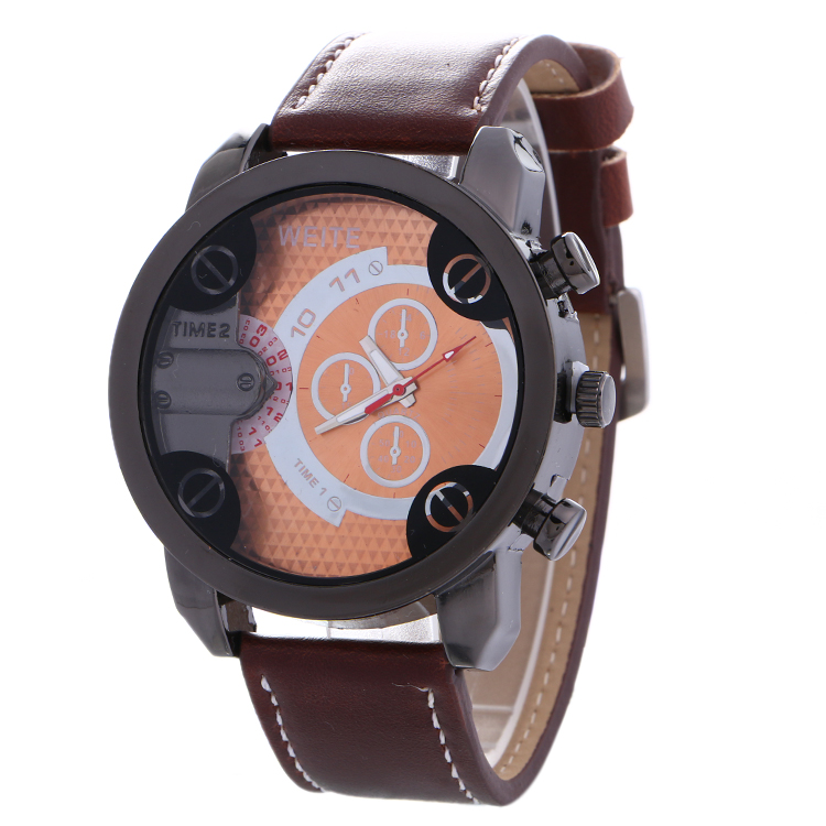 product man cycling business watches watch leather geneva strap men sports luxury quartz racing wristwatches for cool store weite outside
