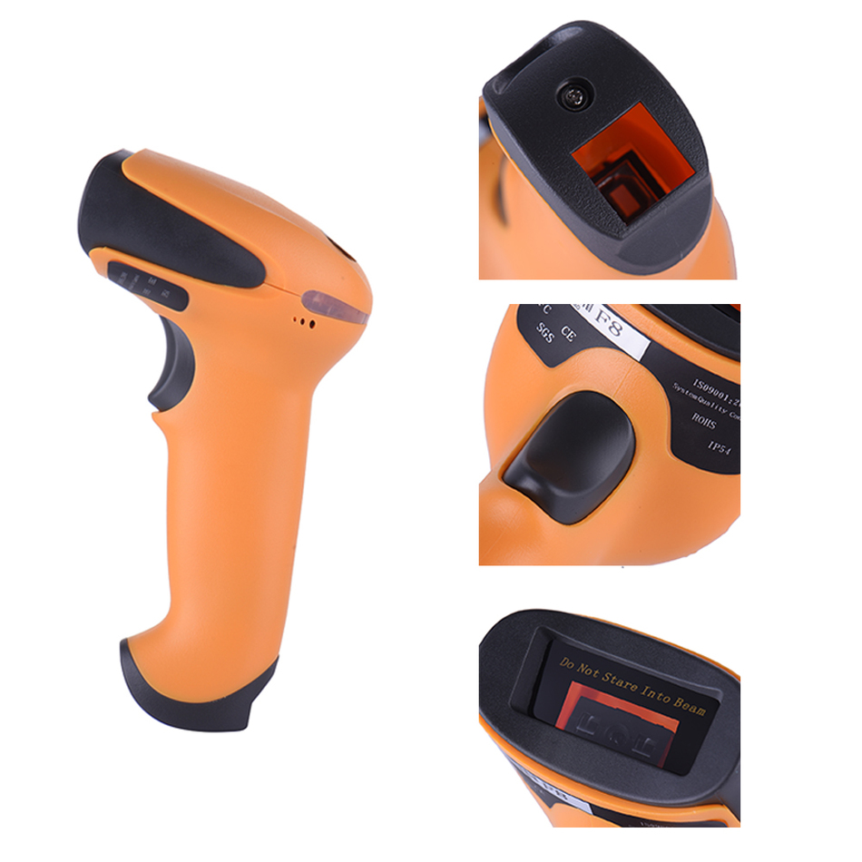 Netum Wireless barcode scanner express bar code reader with function of storage