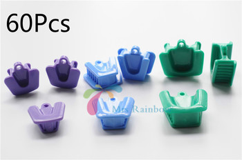 High Quality 60Pcs Dentist Equipme Silicone Mouth Prop Latex Free 3 Type Size