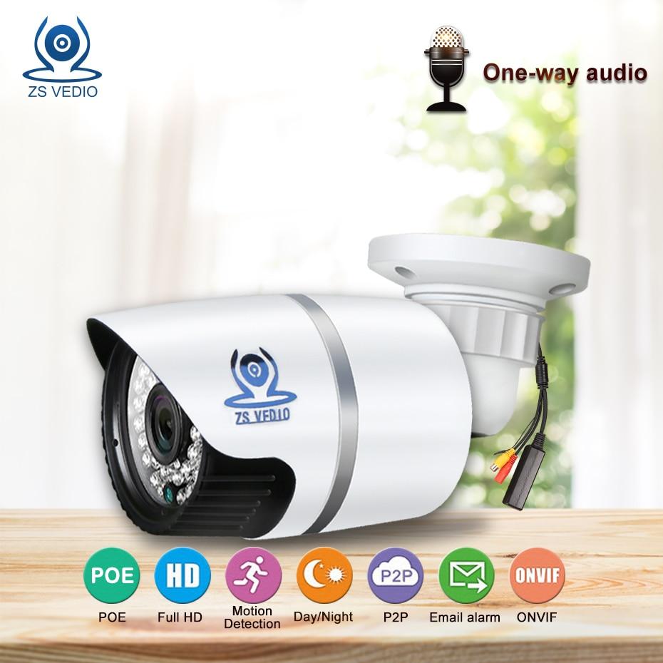 ZSVEDIO caméras de surveillance ip caméra cctv audio sécurité H.264 Enregistrement Vidéo 720 P 960 P 1080 P HD caméra ip sans fil