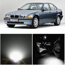 WLJH 15x Canbus автомобиля светодиодный Внутреннее освещение посылка светодиодный комплект для BMW 3 Series-E36 M3 318i 318is 318ti 323i 323is 328i 325i 92-98