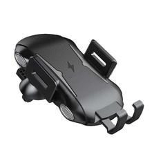Touch Sensing Wireless Car Charger Pad Auto Lock 10W 7.5W 5W