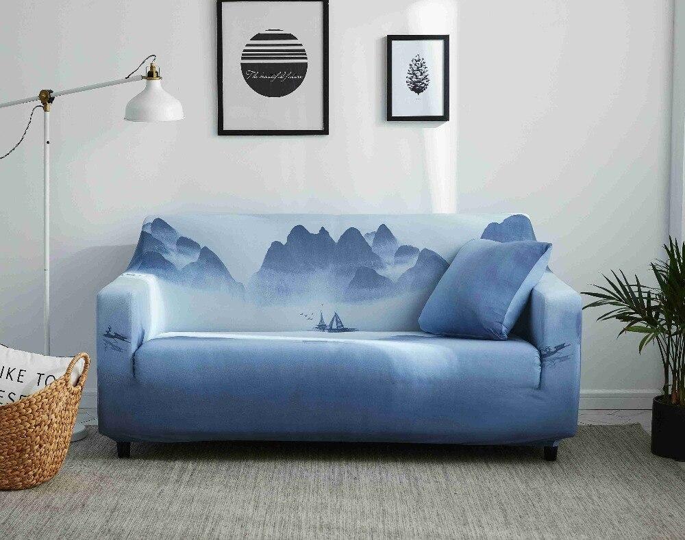 Magic Sofa Cover Sarung Elastis Mengubah Cover Ketat All In Satu Dua Tiga Empat Penumpang dengan