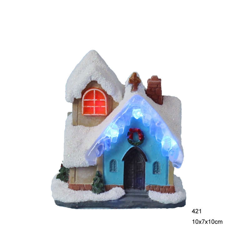 4LED Christmas decoration Ice snow house, led fairy lights ...