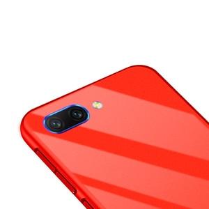 Image 5 - Onur 10 Lüks Ince Düz Renk Kılıf Coque Için Huawei Onur 10 sert çanta Kapak Funda Huawei Honor10 V10 v9 Çantası Kadın