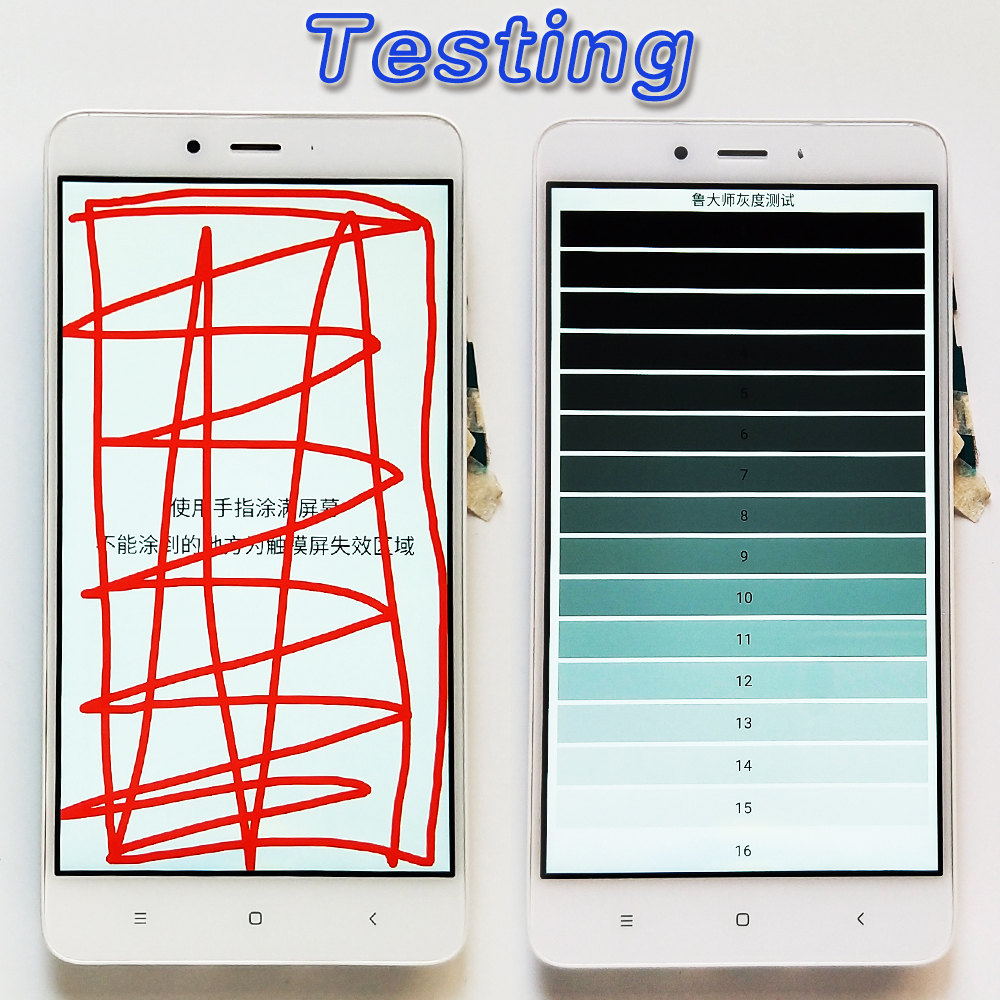HTB1BRy4ieuSBuNjSsziq6zq8pXaO LCD display For Xiaomi Redmi Note 4X / Note 4 Global (CPU:Snapdragon 625) touch screen digitizer assembly Frame 10 Multi-Touch