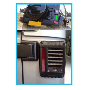 Image 5 - Tail Lights Kit Turn Signal Taillight Daytime Running Lights For Jeep Wrangler JK 07 17 LED Brake Reverse Stop Parking Backup