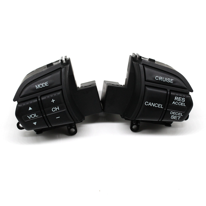 LARBLL Pair Left Right CRUISE Steering Wheel Switch Control For Honda TSX 09 10 SPIRIOR 2009