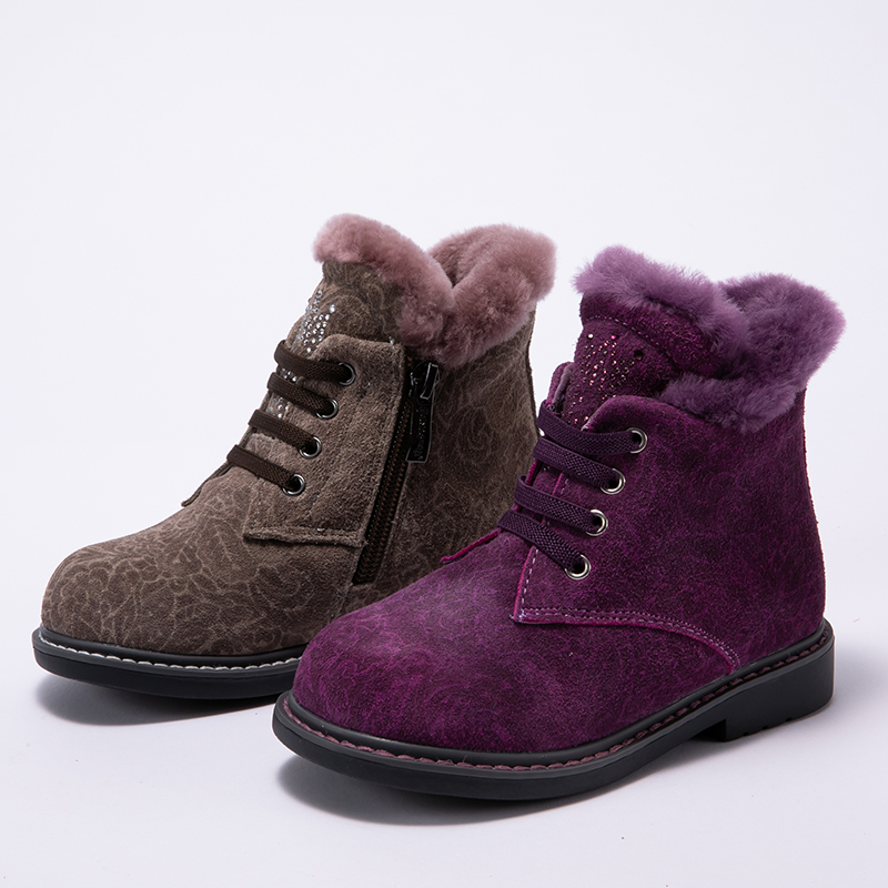 Princepard winter 100% natural fur orthopedic shoes for girls 23-28 size 2018 new orthopedic boots for kids soles TPR Princepard winter 100% natural fur orthopedic shoes for girls 23-28 size 2018 new orthopedic boots for kids soles TPR