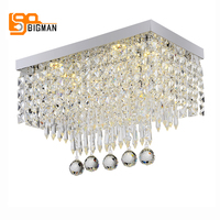 2017 New Modern Chandelier Ceiling Crystal Lights LED Luminare Lustre Bedroom Chandelier Lighting