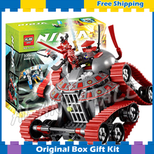 335pcs Bela 9794 Ninja Garmatron Building Sets Educational DIY Construction Bricks Gift Toys Compatible with Lego